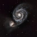 M51 (Whirlpool Galaxy),                                Travin