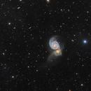 Galactic Practices Cannibalism in M51,                                Alberto Pisabarro