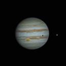 Jupiter and moon transit,                                Matt