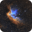 NGC 7380 - The Wizard Nebula,                                Nick's Astrophotography