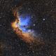 NGC 7380 - The Wizard Nebula,                                Nick's Astrophoto...