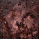 North America/Pelican Nebula,                                Jeff Hall