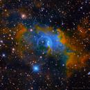 Bubble Nebula in HSORGB,                                Datalord