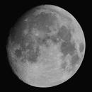 95% Illuminated Moon , 14th September 2016 , 21:00 BST.,                                steveward53