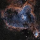 IC 1805 - The Heart Nebula,                                Bc10