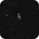 Messier 51 [The Whirlpool galaxy],                                astronut1982