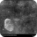 NGC6888 and Soap Bubble Nebula (PN G75.5+1.7),                                vi100