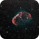 NGC6888 - Crescent Nebula,                                David N Kidd
