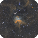 IC417 The Spider Nebula SHO,                                Seymore Stars