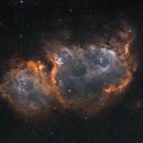 Soul Nebula in artificial narrow band colors,                                Marcel Drechsler