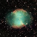Messier 27 Dumbbell Nebula,                                yatsze