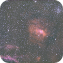 """NGC 7635 """"Bubble"""" +  M52 HSO Unguided,                                Seldom"""
