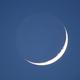 Moon crescent and earthshine, Canon EOS 6D Mk2, 20200425,                                Geert Vandenbulcke