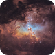 Pillars of Creation (Eagle Nebula),                                Trevor Jones