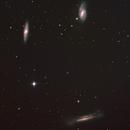 M65 - M66 - NGC 3628 -Tripletto del Leone ,                                Dario Iraci