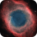 """Eye of God"" Helix Nebula NGC7293 in HOO palette,                                north.stargazer"