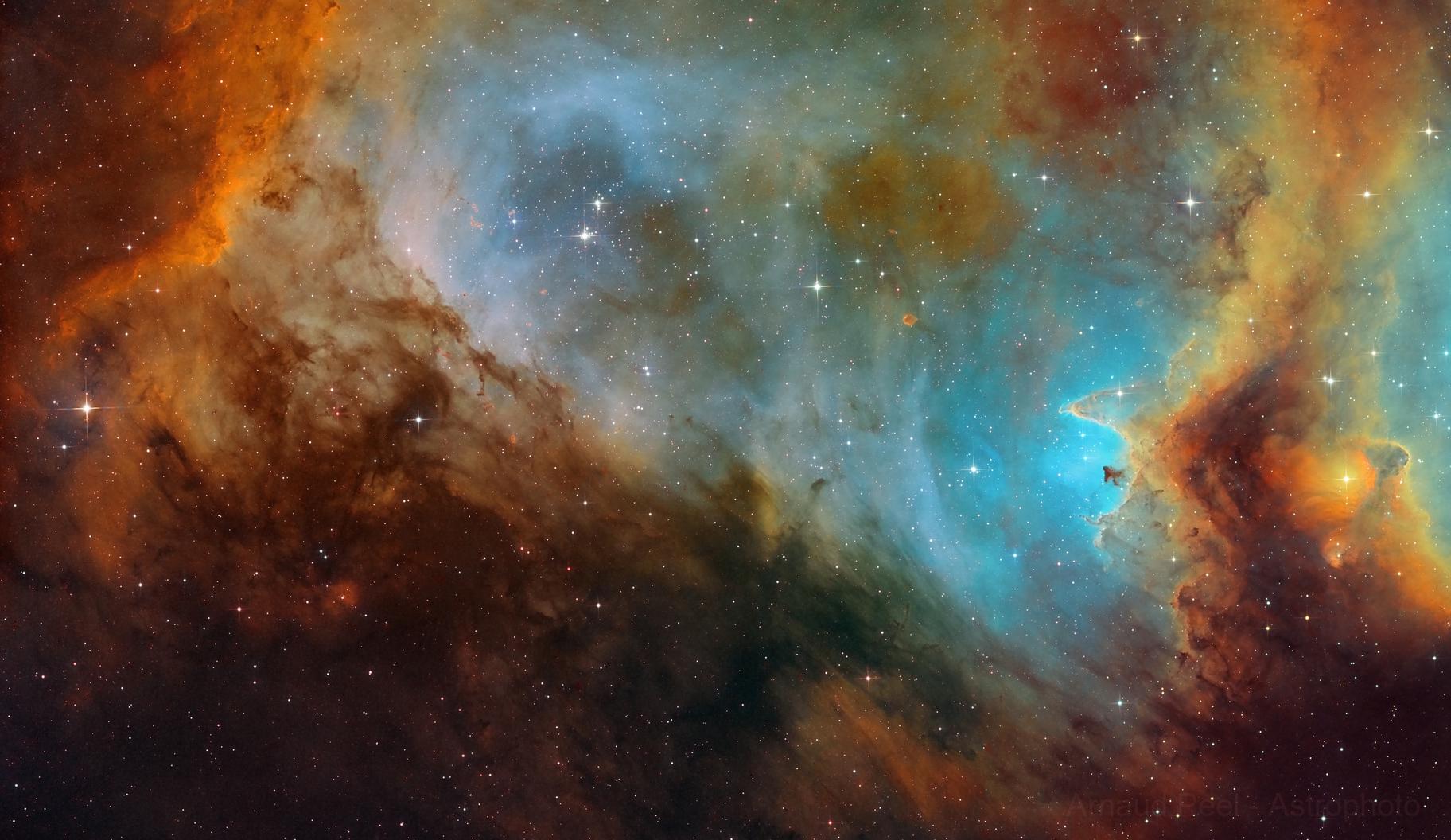 IC1848 in the Soul nebula,                                Arnaud Peel