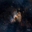 Sh2-155  The Cave Nebula,                                Carl Weber