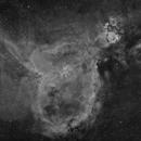 The Heart Nebula in Halpha,                                Gabe Shaughnessy