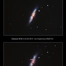 Supernova SN2014J in M82,                                Giorgio Ferrari