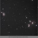 NGC 5371 et le groupe Hickson 68,                                papilain
