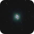 NGC 6543,  The Cat's Eye Nebula ,the core and his rings,                                Exaxe