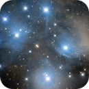 A Pleiades Mosaic - Four Frames of the Seven Sisters,                                Jay Ballauer