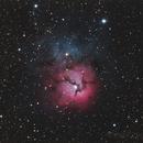 M20, The Trifid Nebula,                                Phil Hosey