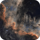 Cygnus Wall in 2-channel Narrowband,                                TomBramwell
