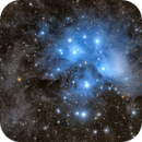 Pleiades: The Seven Sisters: Messier 45 (M45) Version 2,                                Doug Griffith
