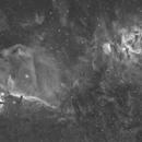 B33 and M42 Halpha,                                Davide De Col