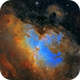 M 16  Eagle Nebula - Hubble Palette,                                Paul Schuberth