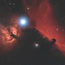 HORSE HEAD & FLAME NEBULAS,                                Spitzer