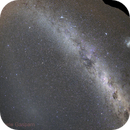 Milky Way and zodiacal band,                                Daniele Gasparri