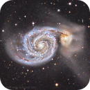 The Whirpool Galaxy, M51,                                AstroCat