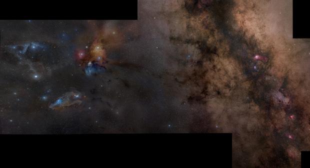Between Sagittarius, Ophiuchus and Scorpius,                                Rogelio Bernal An...