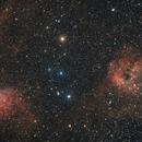 IC 405 - Flaming Star nebula & IC 410,                                Sagittarius_a