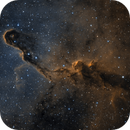 Elephant Trunk Nebula in SHO Reprocessed,                                Alex Roberts