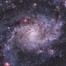 M33 • Triangulum galaxy,                                Mikael De Ketelaere