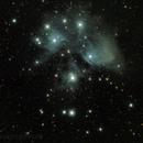 Pleiades M45,                                Jeff Clayton