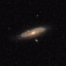 M31 Andromeda Galaxy 20200913 16804s 02.7.3,                                Allan Alaoui