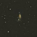 NGC-5394/5 in Canes Venatici,                                Bob Scott