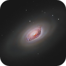 M64: The Sleeping Beauty Galaxy,                                Exaxe
