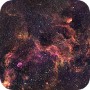 Crescent to Tulip Nebulae Region in Cygnus in HSO, June 24 & July 3, 2020,                                Steven Christensen