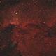 NGC 6188 in constellation Ara,                                Nlawrie94