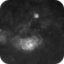 M 8 and M 20     Lagoon Nebula / Trifid Nebula,                                alphaastro (Rüdiger)