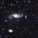 NGC 3718, NGC 3729 and Hickson 56,                                Enrique Arce