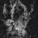 Sharpless 157 - Lobster Claw Nebula - Starless Ha,                                Dan Gallo