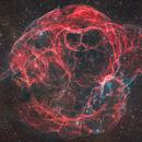 The Spaghetti Nebula and the Star Alnath,                                Matt Harbison