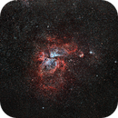 Eta Carinae (NGC 3372) - Fixed Tripod,                                Kiko Fairbairn